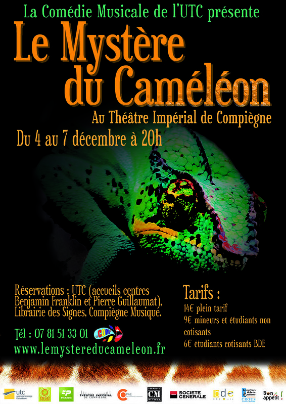 LE MYSTERE DU CAMELEON final