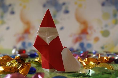 Origami Santa Claus 1 (Giang Dinh)