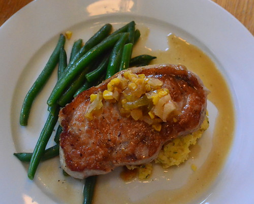 Pan Roasted Pork Chop by pjpink