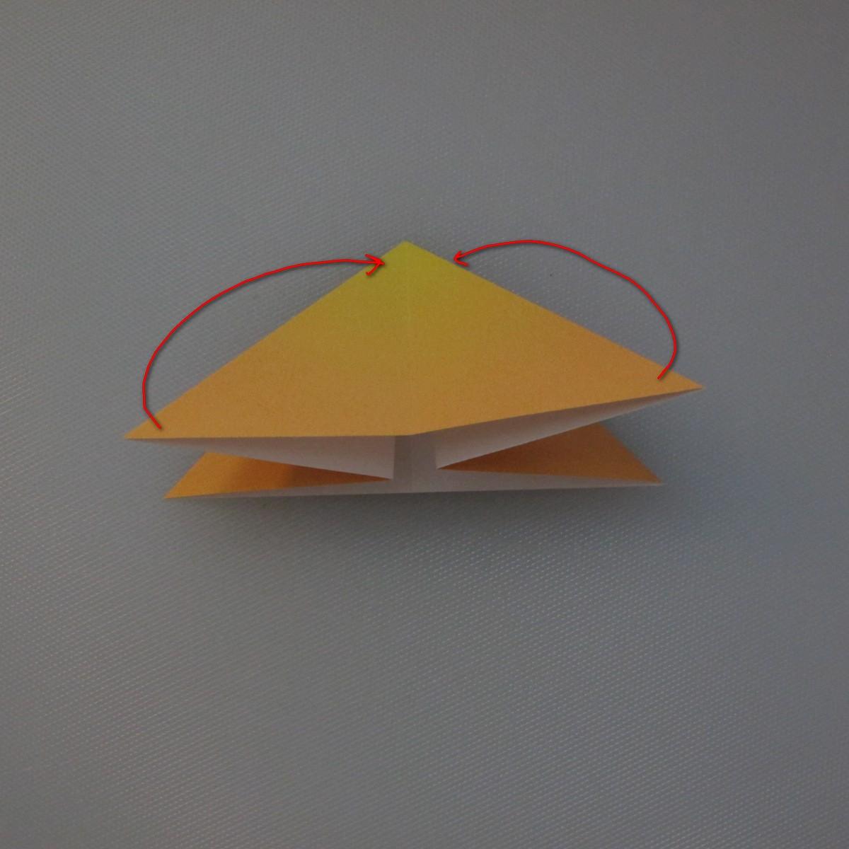 วิธีพับกระดาษเป็นดอกทิวลิป 005