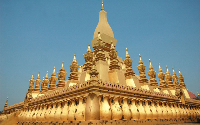 Wat Pha That Luang in Vientiane
