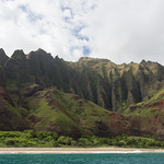 Campsite along the Nā Pali Coast