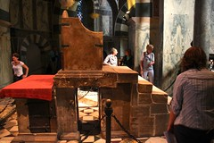 Throne of Charlemagne in Aachen Cathedral