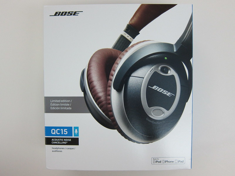 Bose QC15 - Box Front
