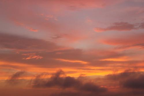 sunset sky atardecer cielo