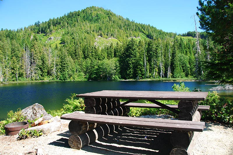 Star Lake Recreation Site, Gold River, Central Vancouver Island, British Columbia