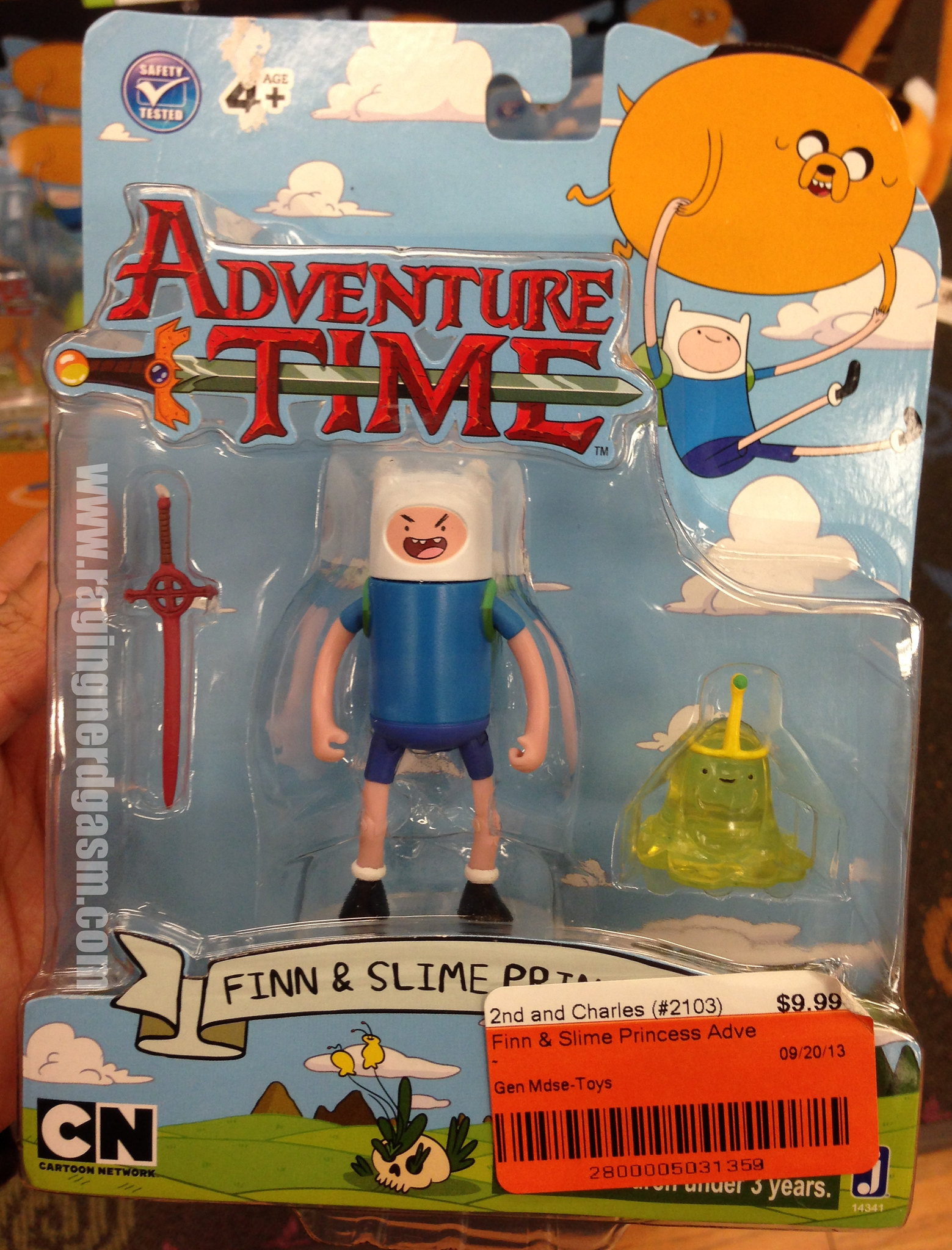 Adventure Time Figures series 3 - Finn and Slime Princess