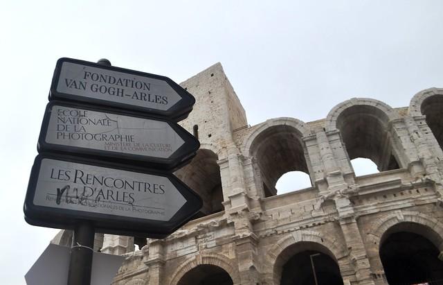 Amphiteatre, Arles, France, Sept. 2013