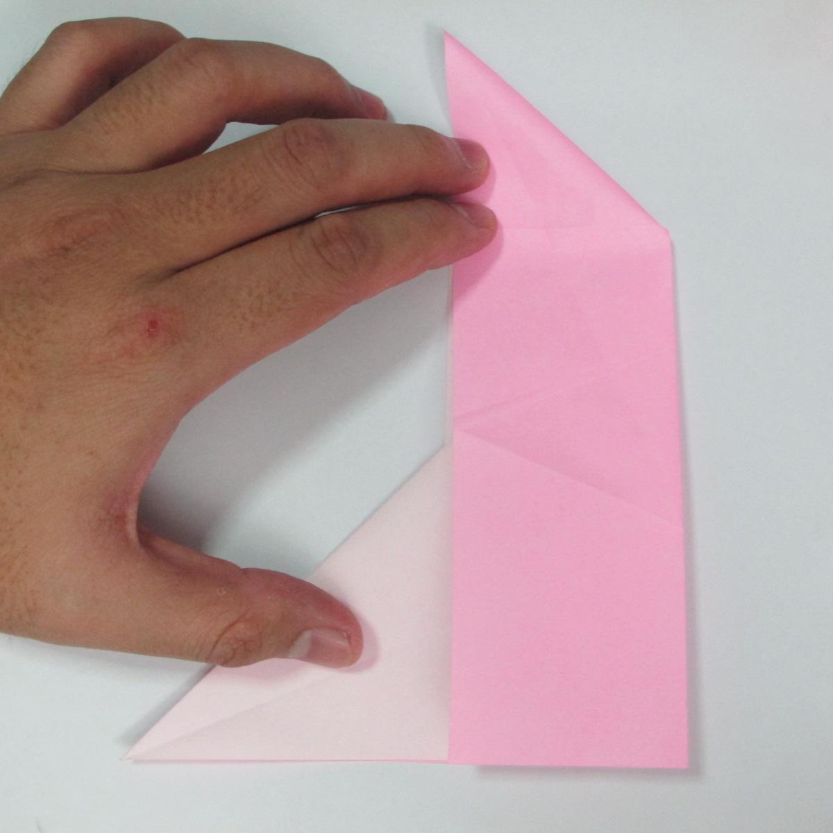 สอนการพับกระดาษเป็นลูกสุนัขชเนาเซอร์ (Origami Schnauzer Puppy) 020