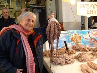 Athen's fish market