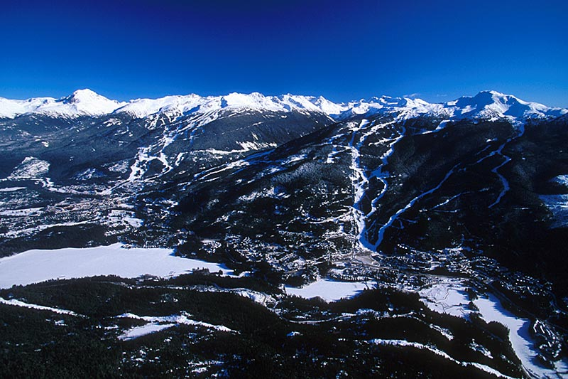 Whistler Blackcomb Ski Resort, Whistler, Whistler Valley, Sea to Sky, British Columbia, Canada