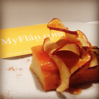 Apple Crisps Flan