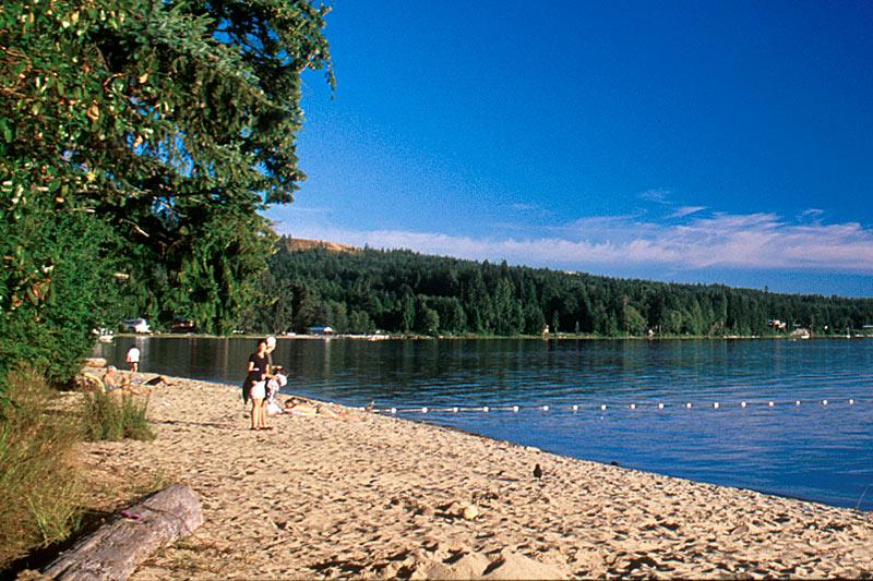 Porpoise Bay Park, Sechelt, Sechelt Peninsula, Sunshine Coast, British Columbia, Canada