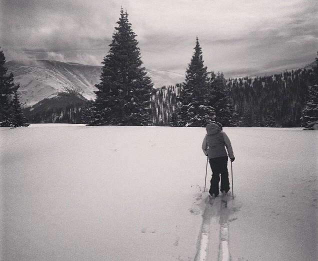 Off piste at Winter Park