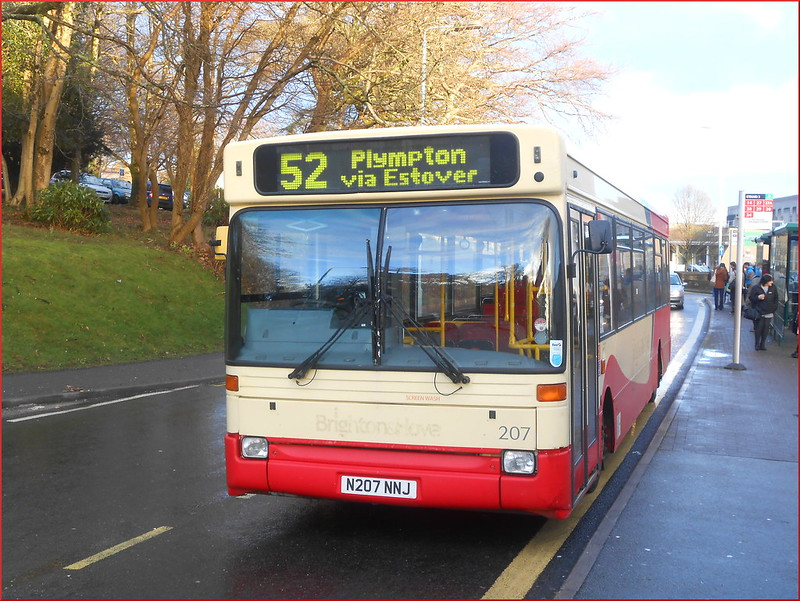 Jackett's Coaches Dennis Dart SLF N207NNJ lays over at Derriford Hospital
