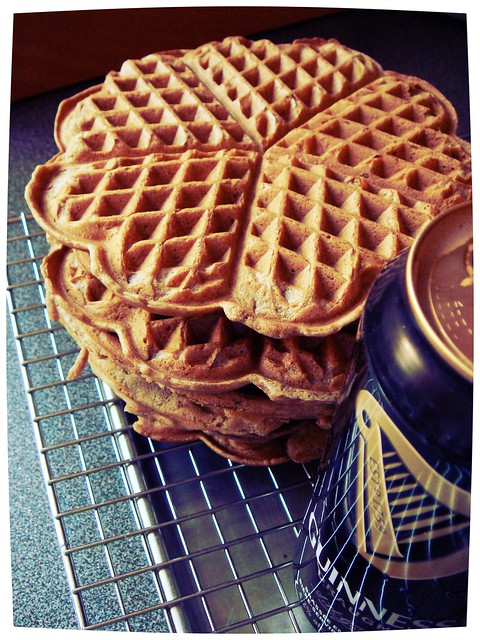 Spiced Stout Waffles