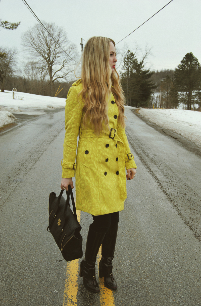 YellowLaceTrenchCoat-KillCityJeans-PourLaVictoireBoots-PhillipLimPashli