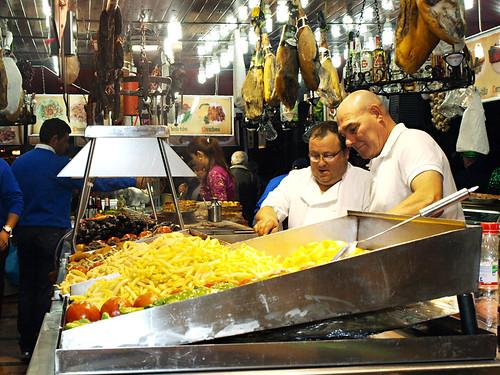 Food Stall, carnival, Puerto de la Cruz, Tenerife