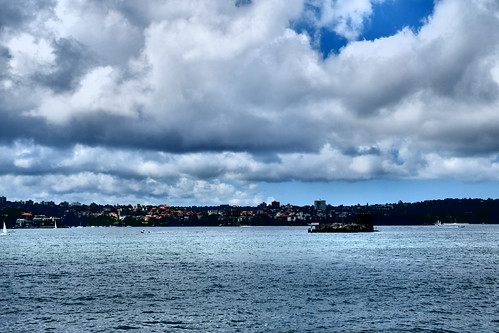 dramatic Port Jackson