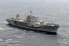 USS Blue Ridge (LCC 19) operates in the South China Sea. (U.S. Navy file photo/MC2 Phillip Pavlovich)