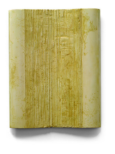 Su Xiaobai, Flawed Jade,  2012, Oil, lacquer, linen and wood,160 x 125 x 12 cm
