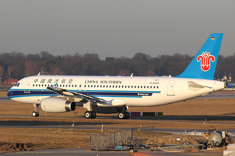China Southern - A320 - D-AXAH (1)