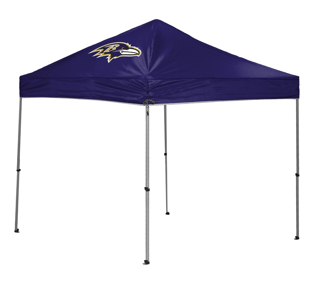 Baltimore Ravens TailGate Straight Leg Canopy, 9' x 9'