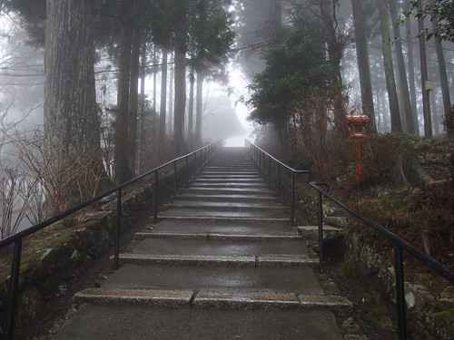 Todo area @ Mount Hiei in the fog @ Kyoto | by *_*