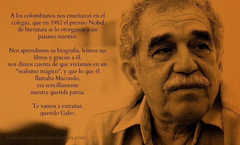 Gracias, Gabo
