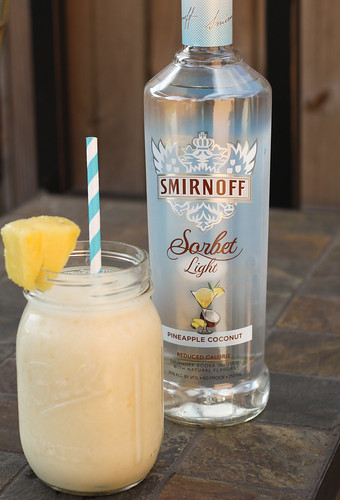 Pineapple Vodka Shake