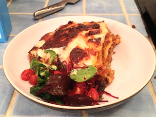 Slice of Homemade Lasagne