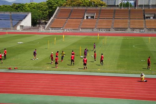 2014/04/24 京都サンガFC 西京極公開練習 #03