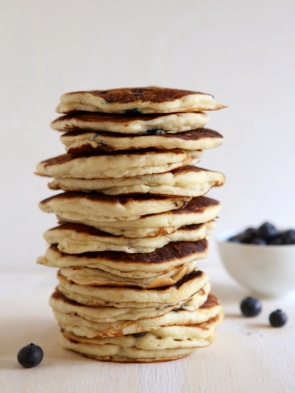 Blueberry Pancake Bake, from completelydelicious.com