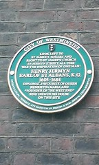 Photo of Henry Jermyn green plaque