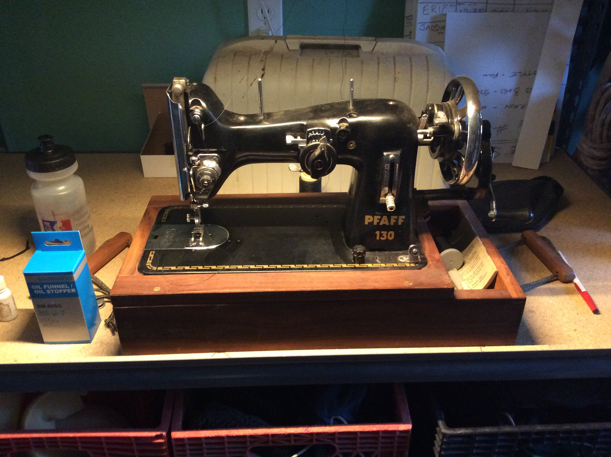 Vintage Sewing Machines For Diy Bikepacking Gear Mtbrcom Necchi Bu Machine Threading Diagram Image By Kullaberg631 On Flickr
