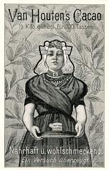 Werbeanzeige für Van Houten Kakao, Bild 2