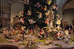 decor, flower, christmas tree,