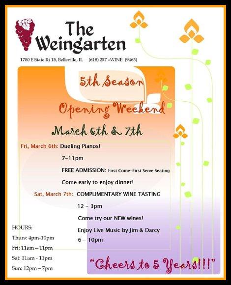 Weingarten 3-6, 3-7-15