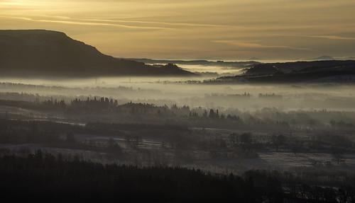 mist sunrise dawn scotland campsiefells balmaha mistymorning conichill strathendrick nikonafsvr70300f4556gifed nikond800