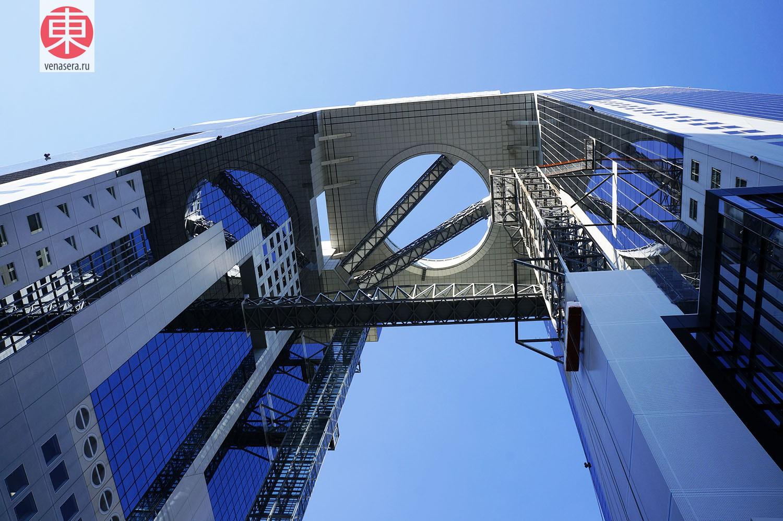 Umeda Sky Building, Осака, Япония
