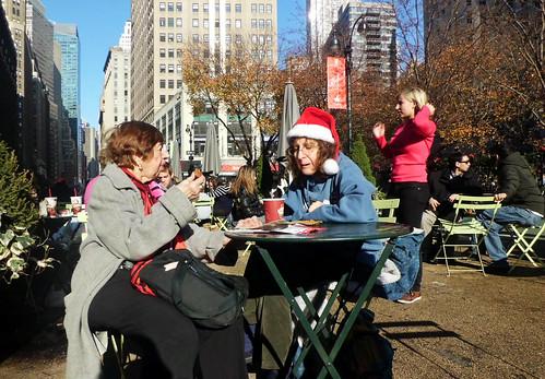 November at Greeley Square Park