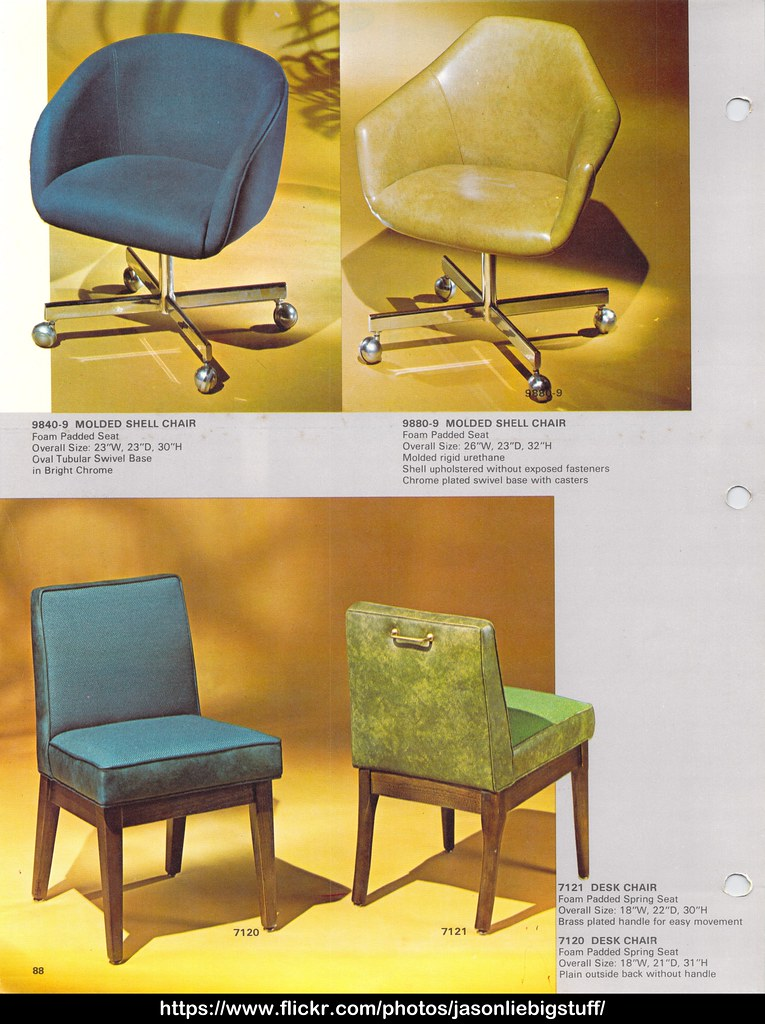 Shelby Williams 1971 Furniture Catalog Page 094