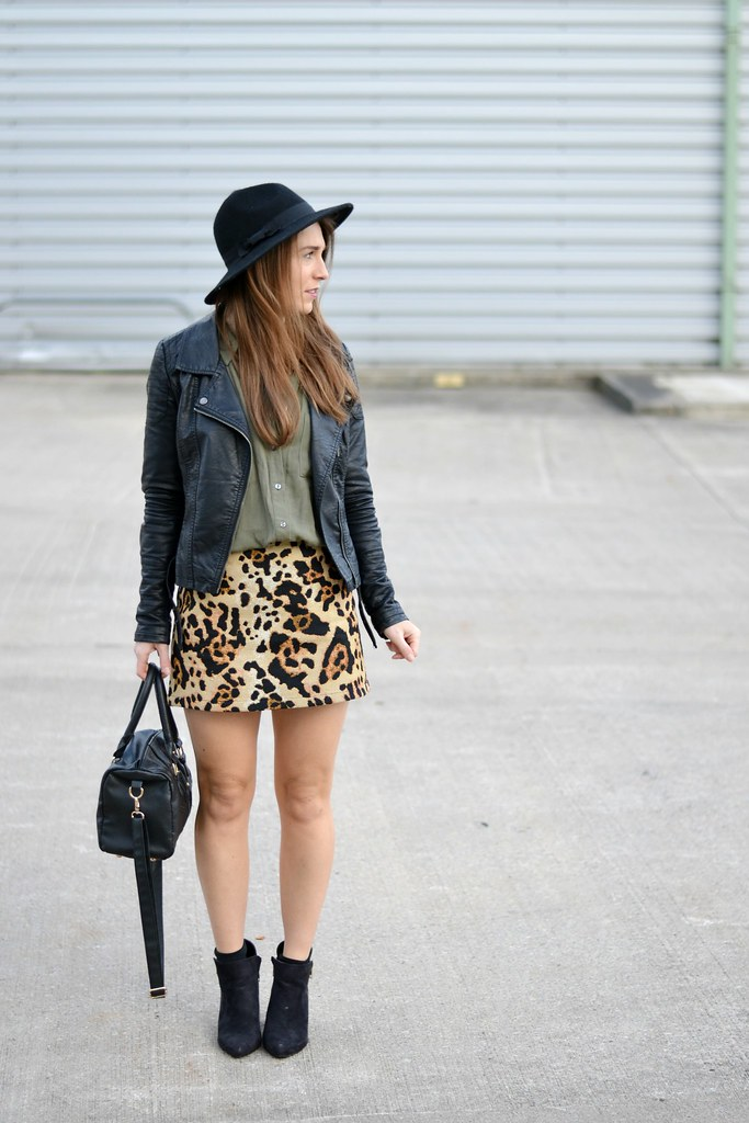 Leopard Print Topshop Skirt 2