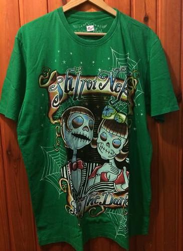 Pánske tričko Shiroi Neko zelené