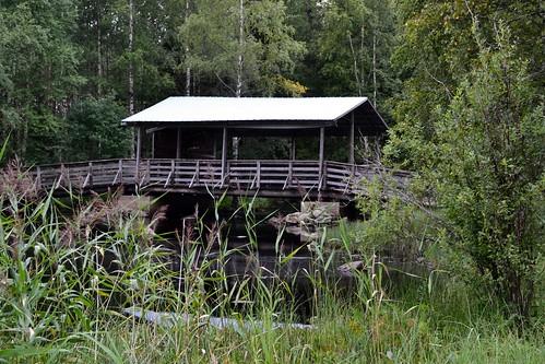 summer nature finland geotagged bridges august fin ph pihlajavesi keskisuomi 2011 keuruu 201108 20110810 geo:lat=6237160800 geo:lon=2435802000 kirkkokanava vrrankoski