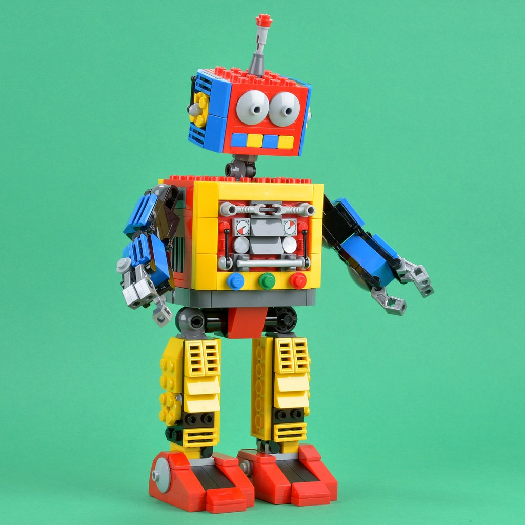 Clockwork Robot by Adeel Zubair