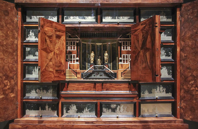 Collector's cabinet, Anonymous, c.1675-1685