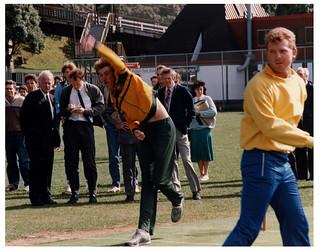 Bruce Reid & Craig McDermott - At Victoria University Wellington - 1986