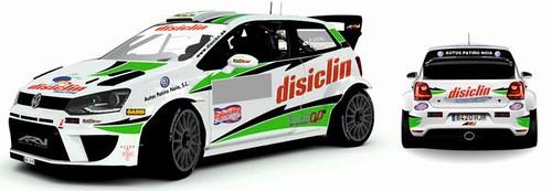 Amador Vidal Disiclin Campeonato España Rallyes Tierra 2015