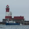 Serenity V at Longstone Lighthouse